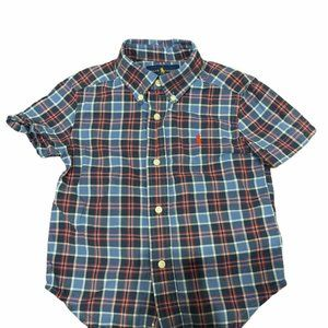 POLO RALPH LAUREN BOY BUTTON UP SHIRT